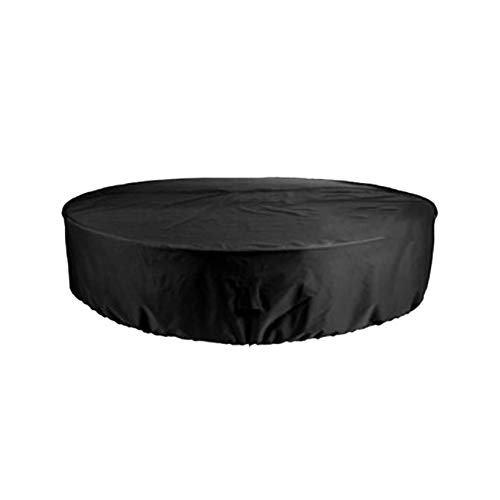 Garden Furniture Covers 73x37in, Outdoor Furniture Covers, Round Patio Table & Chair Set Cover, Water Resistant Fabric, UV Resistant, Extra Large, for Outdoor Dining Table and Chairs
