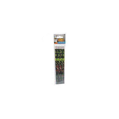 CYP Imports Star Wars–Bleistift mit Radiergummi, mehrfarbig