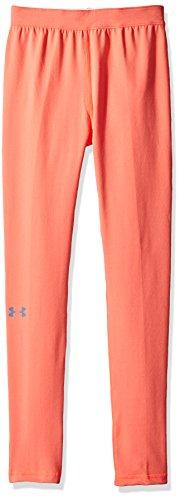 Under Armour - Fitness-Hosen für Mädchen in Pink Chroma, Größe XL