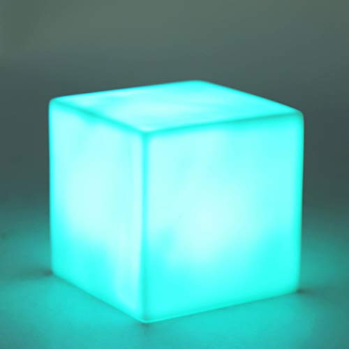 Cubo de Luz de la Noche - LED Cubo de Luz de Color Cambio de la Lámpara del Humor del Partido Decoración del Hogar
