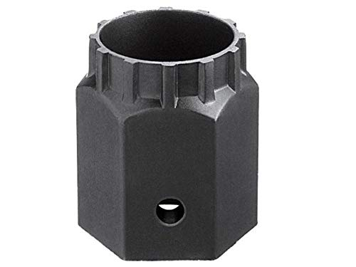 SHIMANO Unisex– Erwachsene Tl-lr10 Verschlussring-Werkzeug, silber, Ratschenaufnahme 1/2'