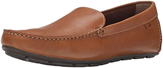 Sperry Mens Wave Driver Venetian Loafer, Tan, 11