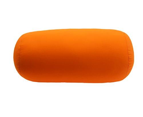 Yalulu Nackenkissen Reisekissen Schaumkissen Schlafkissen Weiches & Bequemes Schaum Reisekissen/Nackenstützkissen/Nackenhörnchen Dekokissen Stuhlkissen Sitzkissen (Orange)