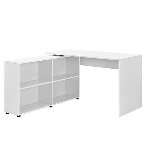 en.casa]®] Mesa Escritorio - Escritorio de Ordenador - 130 x 60 x ...