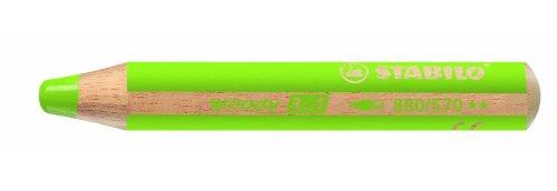 Stabilo® Multitalent-Stift woody 3 in 1, hellgrün VE=10