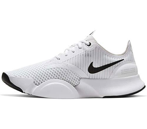 Nike Superrep Go Cj0773-100 - Zapatillas de entrenamiento para hombre, blanco (Blanco/Negro-fotón Polvo), 42 EU