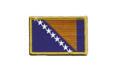 Aufnäher Patch Flagge Bosnien-Herzegowina - 8 x 6 cm