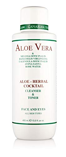 Canarias Cosmetics Aloe Herbal Cocktail, 1er Pack (1 x 400 g)