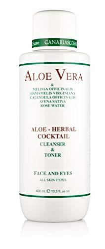 Canarias Cosmetics Aloe Herbal Cóctel, 1er Pack (1x 400g)