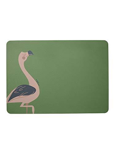 ASA - Kids – Set de table – Fiona Flamingo – 46 x 33 cm – Cuir synthétique.