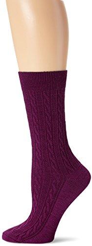 Sockwell San Fran Cable Socken für Damen Medium violett