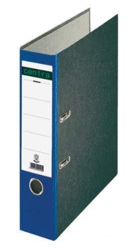 Centra Standard-Ordner (grauappe RC, mit Wolkenmarmor-Papier-Kaschierung, A4, 8 cm Rückenbreite) blau, 20 Stück