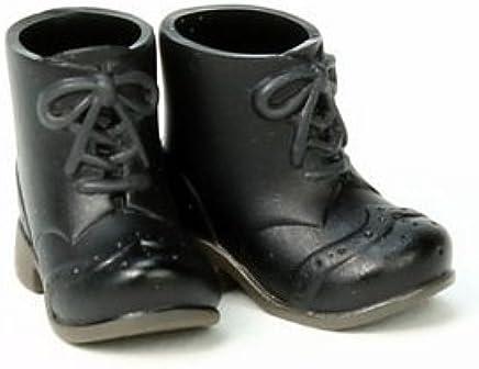 オビツボディ 11cmボディ用ショートブーツ 黒
