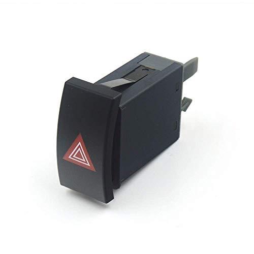 MZWNQ Luz de Advertencia Interruptor Harzad Interruptor Intermitente de Emergencia de Peligro/Apto para VW Passat 3GB 3G Skoda Superb 2002-2006 2007 2008