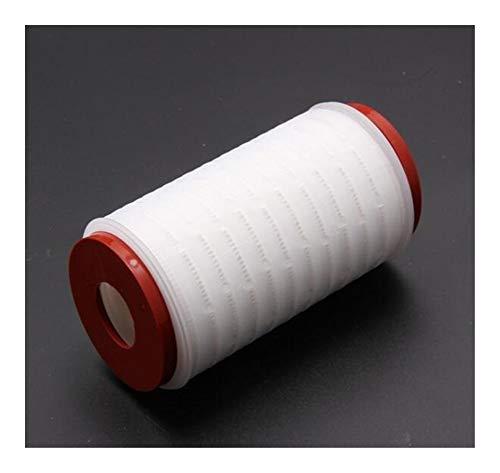 Reunion 5 Zoll Wasserfilter Teile Membrankartusche Höhe 128mm 0.2 um Flüssigkeitsfiltration Purifier Bier Wein