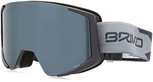 Briko Lava XL Unisex Sonnenbrille - Erwachsene F13Mt Smoke/C Grey/Sm3, Einheitsgröße