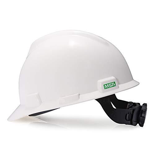 Shang Jiangan MSA V-A tipo casco ABS anti-caída uso sombrero trabajo de ingeniería sitio de construcción descanso (Color : A-1)