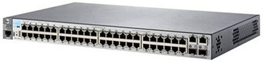 HP 2530-48 Switch - switch - 48 ports - managed - desktop, rack-mountable, wall-mountable