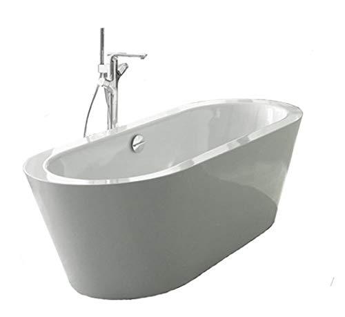 Bette Starlet Oval Silhouette, 195x95cm, freistehende Badewanne, 2745CFXXK, Farbe: Weiß