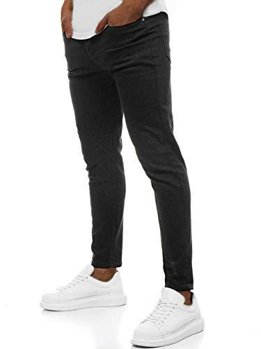 OZONEE heren jeans broek herenjeans jeans spijkerbroek skinny Röhenjeans biker stretch regular slim fit rechte sportjeans cargobroek cargo destroyed look wasbroek DP/585