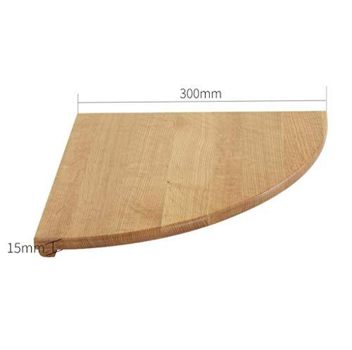 LXESWM badkamer hoek planken massief hout hoek opslag plank douche planken hoek partitie plank muur eiken slaapkamer woord partitie muur hoek