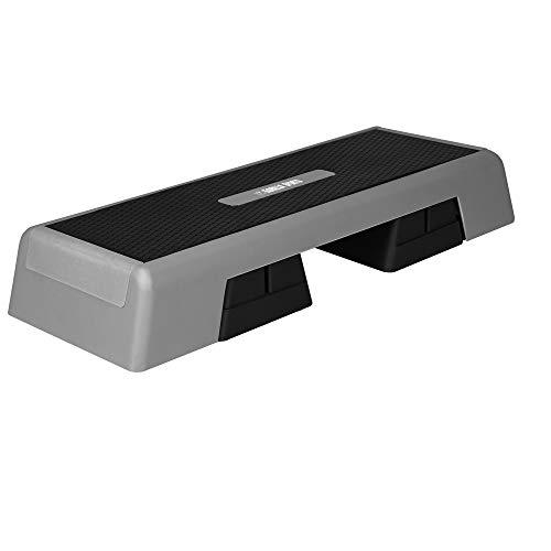 GORILLA SPORTS® Aerobic Stepper 3-Fach höhenverstellbar - Fitness Step-Brett XL