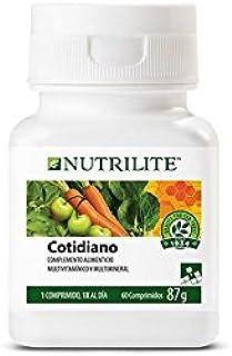 NUTRILITE Cotidiano Multivitamínico. mineral y fitonutrientes - 60 comprimidos 87 gr.