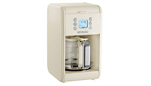 Morphy Richards 163006 Verve Pour Over Filter Coffee Machine, Cream