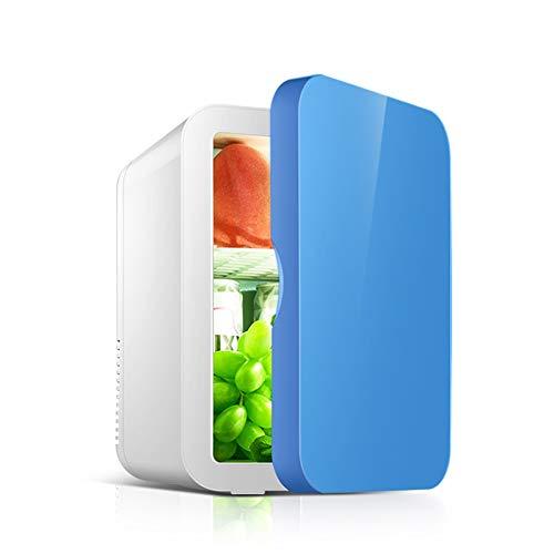 Car Réfrigérateur-8L Voiture Petit Réfrigérateur Portable Maison Étudiant Dortoir Fruit Masque Cosmétiques De Stockage De Réfrigérateur Réfrigérateur Voiture refrigerato (Color : Pink)