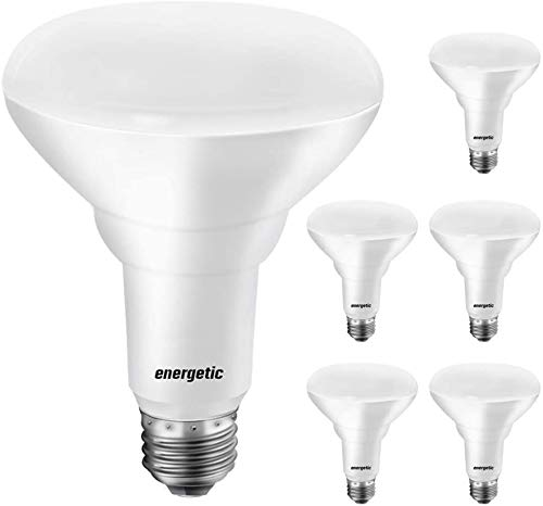 [Energy Star & CRI 90] BR30 LED Flood Lights Indoor, Daylight 5000K, 65W Recessed Light Bulbs, Dimmable, 750lm, UL Listed, 6 Pack