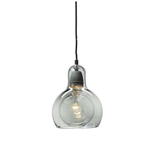 QMMCK Art Decor plafondlamp hanglamp glas materiaal dubbele lampenkap E27 Home Lighting Decor verlichting Cl-3