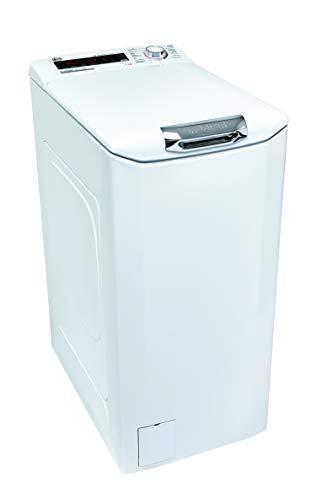 Hoover H-WASH 300 H3TFMQ47TAMCE-84 Waschmaschine Toplader / 7 kg / 1400 U/Min / BPM Inverter Motor / Power Care System / All in One Programm / Slow Motion Öffnungsmechanismus / deutsche Bedienblende