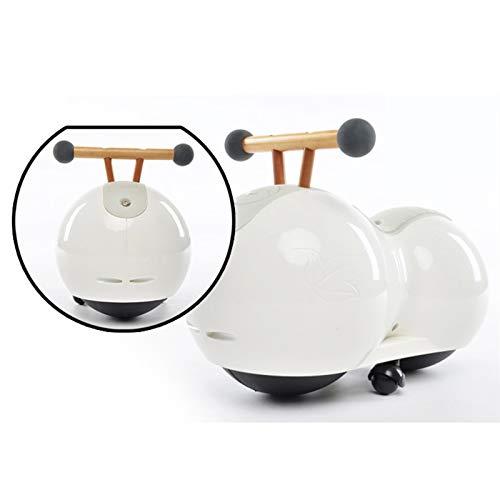 Caminante del bebé, bebé Equilibrio Vespa, 360 ° rotación libre, equipado con estabilizadora auxiliar ruedas, Protejamos a los niños for disfrutar de una niñez feliz, montar a caballo de juguete de re