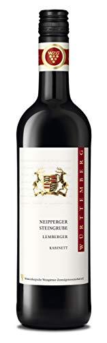 Württemberger Wein Neipperger Steingrube Lemberger Kabinett halbtrocken (1 x 0.75 l)