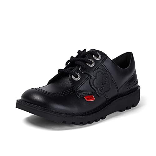 Kickers Kick Lo J Core - Zapatos, unisex, color Negro (Black), talla 31 EU