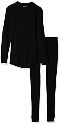 Smith's Workwear Men's Thermal Sets, Black, Large
