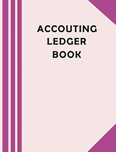 ledger books for bookkeeping: simple ledger book