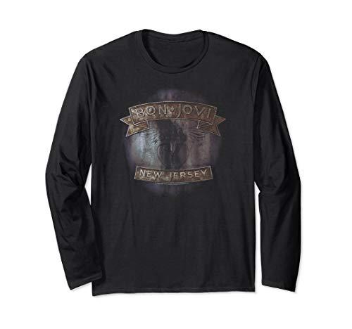 Bon Jovi New Jersey Langarmshirt