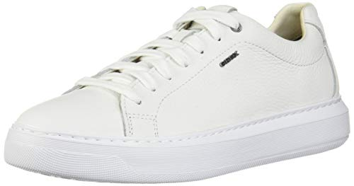 Geox Herren U Deiven B Sneaker, Weiß, 44 EU