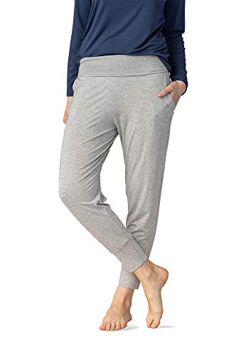 Mey Night Sleepy & Easy Damen Yoga Pants Grau 40
