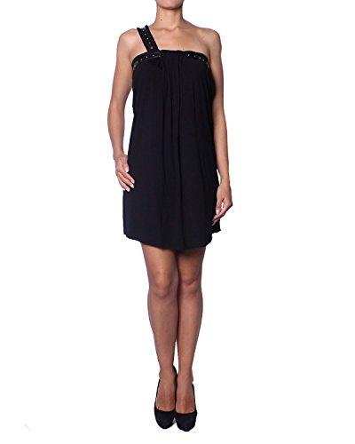 Pierre Balmain Vestido Corto Asimétrico para Mujer - negro, XS (FR36/IT40)