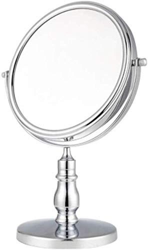 Miroir JT- Maquillage Retro Desktop Métal Loupe européenne Grand Maison Dressing Petit et Pratique