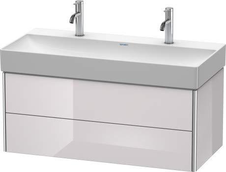 Duravit XSquare Waschtischunterbau wandhängend 98,4 46,0 cm, 2 Schubkästen, für Waschtisch DuraSquare 235310, Farbe (Front/Korpus): Leinen