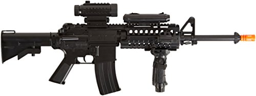 Soft Air Firepower F4D Electric Powered Airsoft Rifle with Hop-Up, 200 FPS