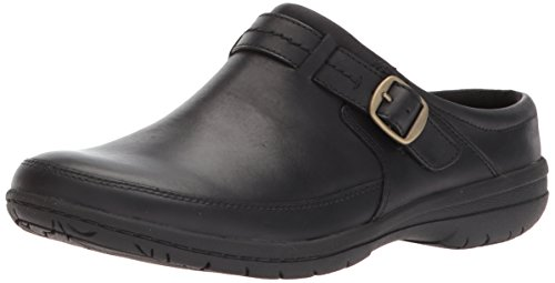 Merrell Women's Encore Kassie Buckle Slide Clog, Black, 6 Medium US