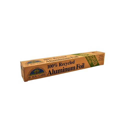If You Care Aluminum Foil - Recycled - 50 Sq Ft Roll