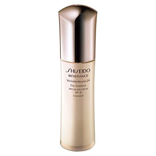 Shiseido/Benefiance Spf 18 Wrinkle Resist 24 Day Emulsion 2.5 Oz (75 Ml)