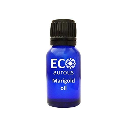 Marigold Oil 100% Natural, Organic, Vegan & Cruelty Free Marigold Essential Oil | Pure Marigold Oil | Tagetes Oil by Eco Aurous (10ml (0.33oz))