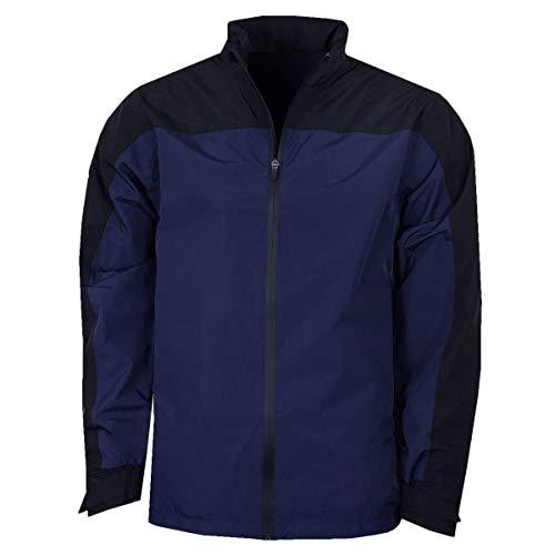 Callaway New Blockd Waterproof Jacket Chaqueta Deportiva, Azul (Azul 410), Medium (Tamaño del Fabricante:M) para Hombre
