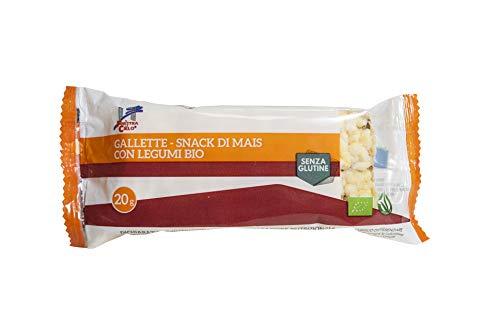 la FINESTRA del CIELO Gallette Snack di Mais con Legumi senza Glutine Bio - 30 g
